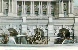 Neptune Fountain, Library of Congress, Washington, DC