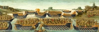 The Battle of Actium, c.1475-1480 by Neroccio Di Landi