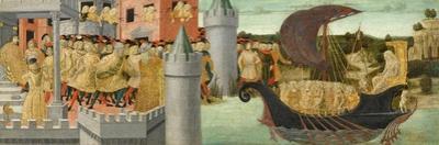 The Visit of Cleopatra to Antony, c.1475-1480 by Neroccio Di Landi