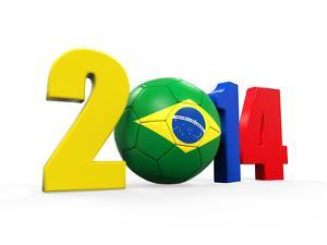 Brazil Soccer 2014 by Nerthuz