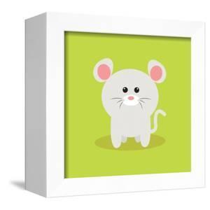 Cute Cartoon Mouse by Nestor David Ramos Diaz