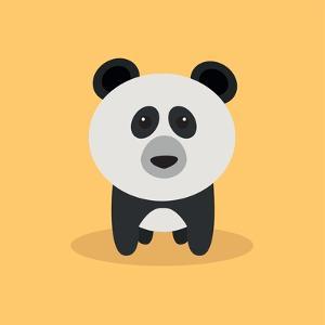 Cute Cartoon Panda by Nestor David Ramos Diaz