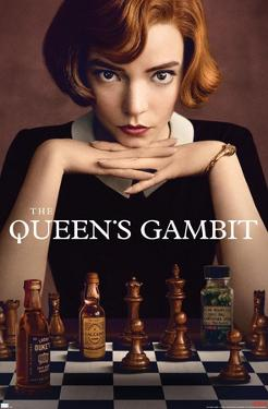 Netflix The Queen's Gambit - Key Art