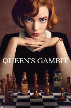 Netflix The Queen's Gambit - Key Art