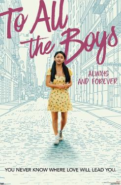 Netflix To All the Boys I've Loved Before 3 - One Sheet