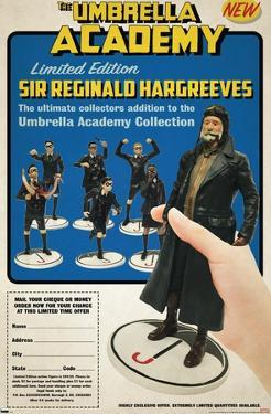 Netflix Umbrella Academy - Figurines
