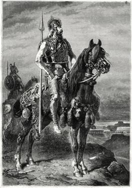 Gallic Horseman, 19th Century by Neuville