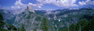 Nevada Fall and Half Dome, Yosemite National Park, California