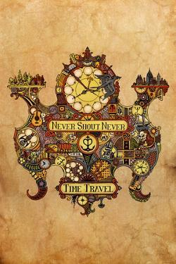 Never Shout Never Time Travel NeverShoutNever Music Poster Print