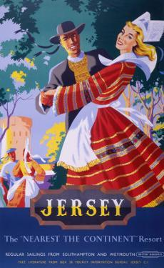 Jersey, BR, c.1952 by Nevin
