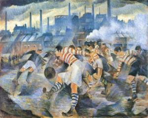 Any Wintry Afternoon in England by Nevinson