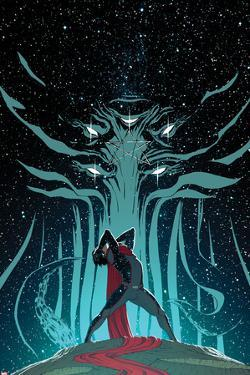 New Avengers No.6 Cover, Featuring Moridun and Wiccan