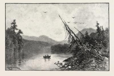 New Brunswick, Little Tobique Lake, Canada, Nineteenth Century