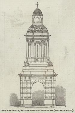 New Campanile, Trinity College, Dublin