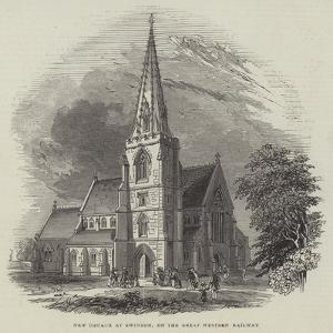 New Church at Swindon, on the Great Western Railway