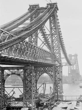 New East River Bridge (Williamsburg Bridge) from Brooklyn, New York, N.Y.