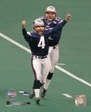 New England Patriots - Adam Vinatieri Photo