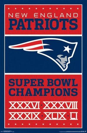 New England Patriots- Champions 17