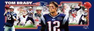 New England Patriots - Tom Brady Panoramic Photo