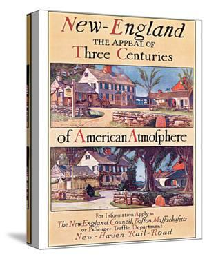 New England, The Appeal of Three Centuries of American Atmosphere