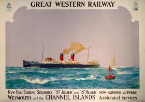 New Fast Turbine Steamers, GWR, c.1923-1947