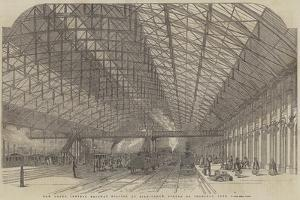 New Grand Central Railway Station, at Birmingham, Opened on Thursday, 1 June