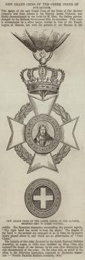 New Grand Cross of the Greek Order of Our Saviour
