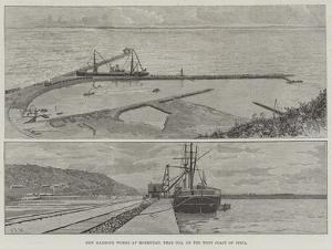 New Harbour Works at Mormugao, Near Goa, on the West Coast of India