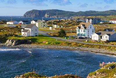 New houses in Twillingate, Newfoundland and Labrador, Canada