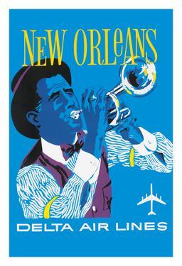 New Orleans - Delta Air Lines - Jazz Trumpet Player