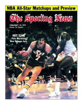 New Orleans Jazz Pete Maravich - February 19, 1977