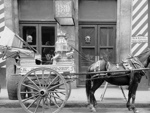 New Orleans, La., a Typical Milk Cart