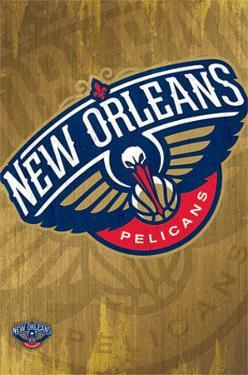New Orleans Pelicans - Logo NBA Sports Poster