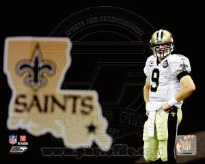 New Orleans Saints - Drew Brees Photo
