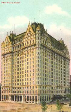 New Plaza Hotel, New York City