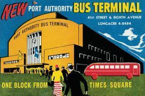 New Port Authority Bus Terminal