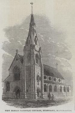 New Roman Catholic Church, Rusholme, Manchester