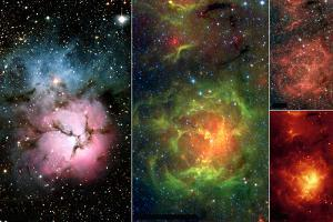 New Views of a Familiar Beauty Nebula Space