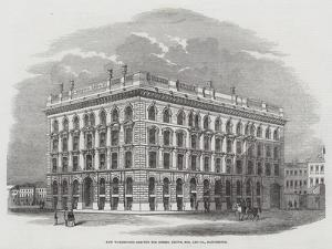 New Warehouses Erected for Messers Brown, Son, and Company, Manchester
