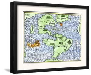 New World Geography According to a Mapmaker of 1540