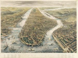 New York and its Environs, 1867