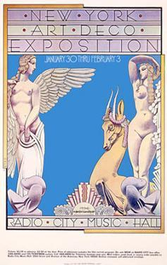 New York, Art Deco Exposition