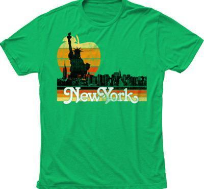 New York Big Apple Skyline