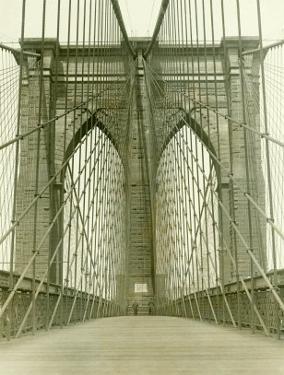 New York, Brooklyn Bridge Tower