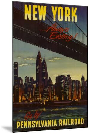 New York by Pennsylvania Railroad