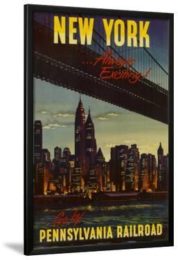 New York by Pennsylvania Railroad