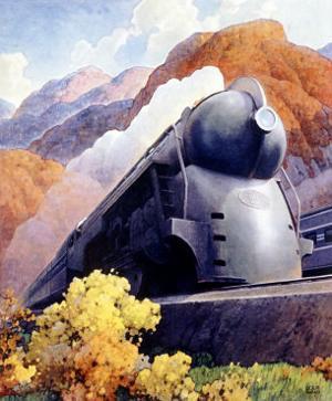 New York, Central Railroad Locomotive