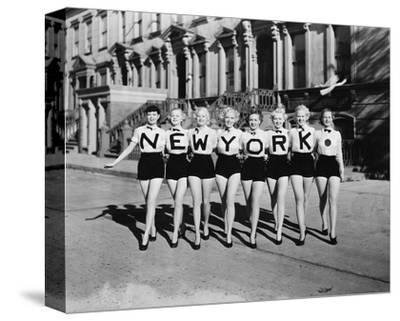 New York Chorus Line Girls