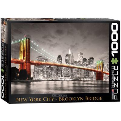 New York City Brooklyn Bridge 1000 Piece Puzzle