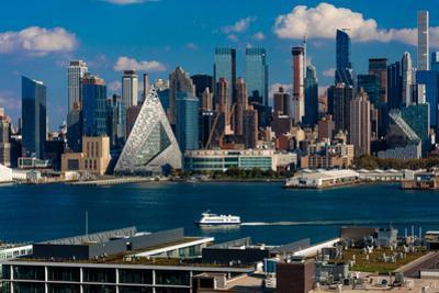 New York CIty Skyline as seen from Pallisades Avenue, New Jersey